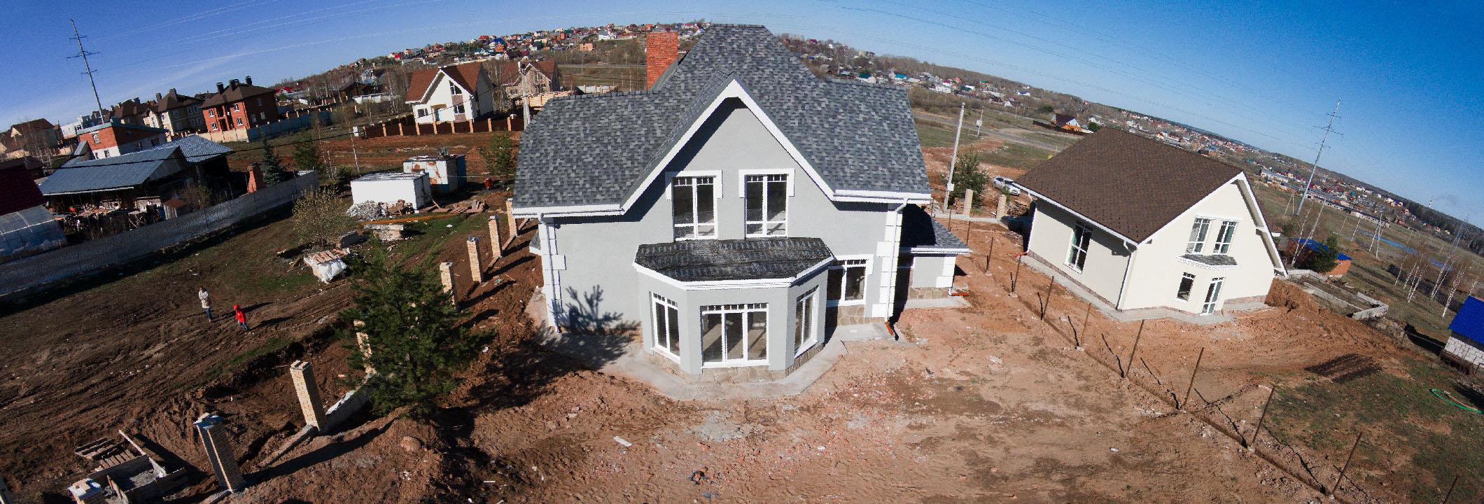 в таком виде мы купили дом весной 2014 года... с этого началась моя стройка... ;)